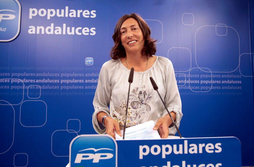 Rueda de prensa de Dolores Lopez en el PP-A