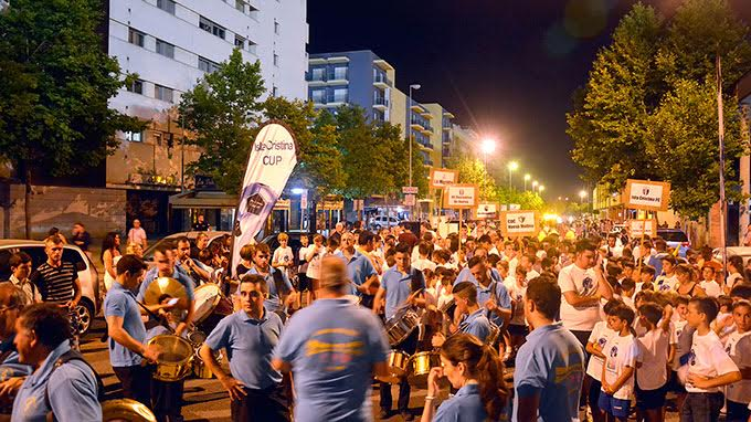 Imagen del desfile de la CUP15