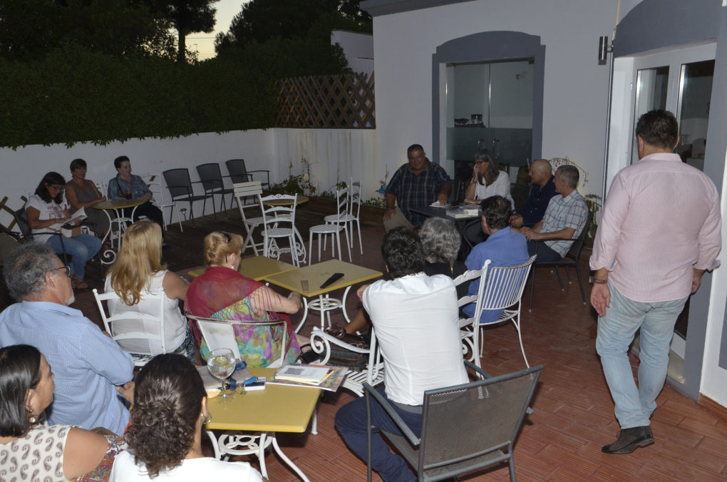 ambiente en Vila Cacela- Portugal