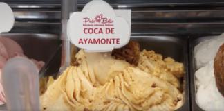 Helado Coca de Ayamonte