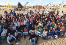 kiteboarding en isla canela