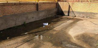 aguas fecales colegio pozo del camino