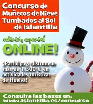 Islantilla - Concurso de Muñecos de Nieve